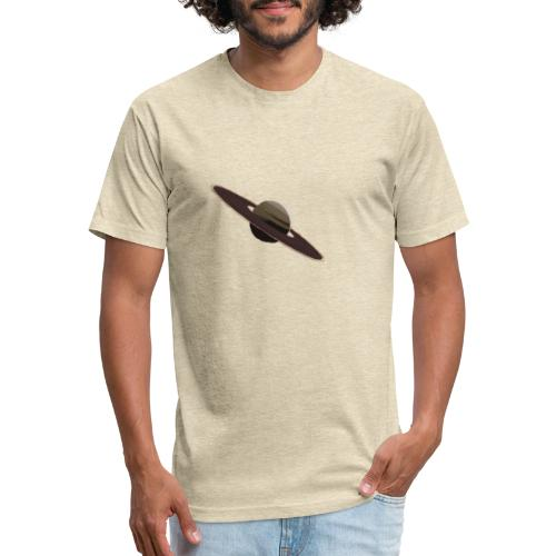 Saturn - Fitted Cotton/Poly T-Shirt by Next Level