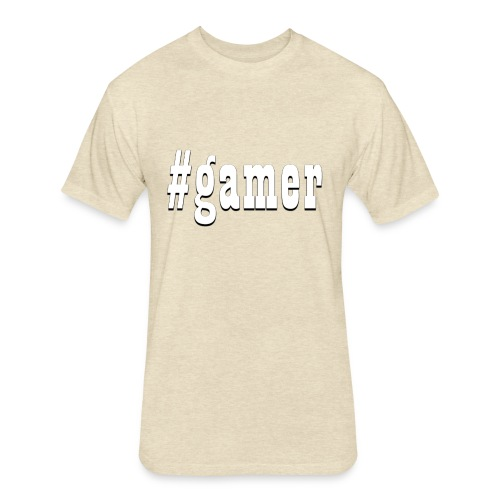 Perfection for any gamer - Fitted Cotton/Poly T-Shirt by Next Level