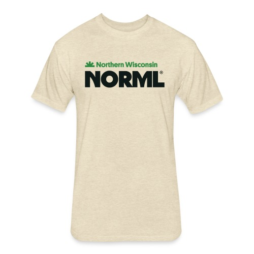 Northern Wisconsin NORML - Fitted Cotton/Poly T-Shirt by Next Level