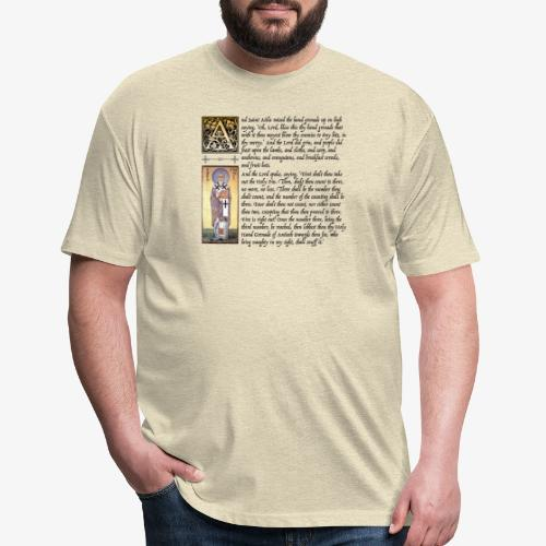 Holy Hand Grenade of Antioch - Fitted Cotton/Poly T-Shirt by Next Level