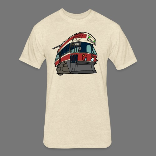 Toronto CLRV - Fitted Cotton/Poly T-Shirt by Next Level