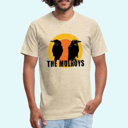 TwoCrows2 - Fitted Cotton/Poly T-Shirt by Next Level