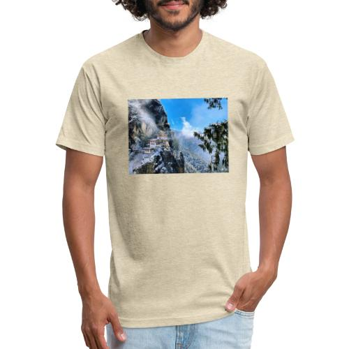 c93418b3f31d67f2427ed01080516308 - Fitted Cotton/Poly T-Shirt by Next Level