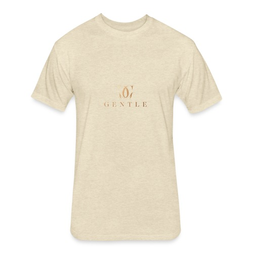 GENTLE - Fitted Cotton/Poly T-Shirt by Next Level