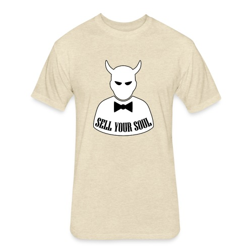 Sell Your Soul - Fitted Cotton/Poly T-Shirt by Next Level