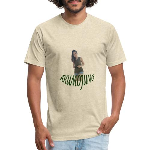 Akumojung 1 - Fitted Cotton/Poly T-Shirt by Next Level