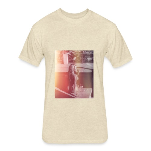 Summer Nights - Fitted Cotton/Poly T-Shirt by Next Level