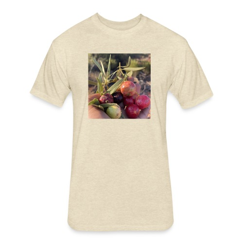 Quandongs - Fitted Cotton/Poly T-Shirt by Next Level