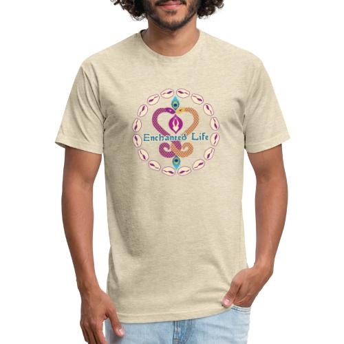 Enchanted Life Logo Gear - Fitted Cotton/Poly T-Shirt by Next Level