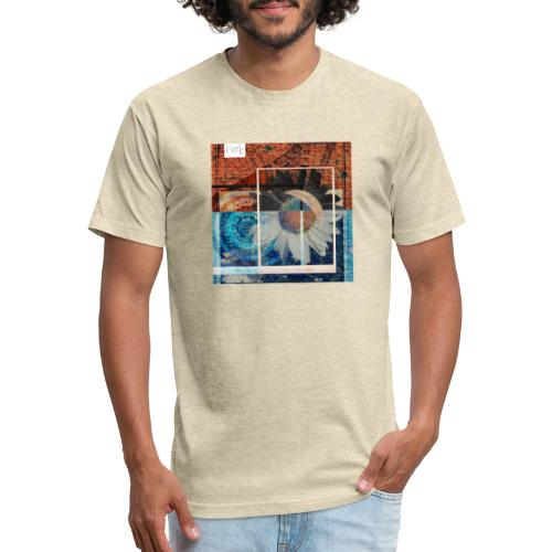 Eclipse - Fitted Cotton/Poly T-Shirt by Next Level