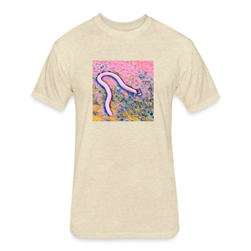Trippie The Legless Lizard - Fitted Cotton/Poly T-Shirt by Next Level