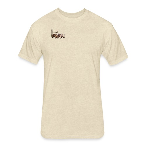 LOGO FINAL 01 - Fitted Cotton/Poly T-Shirt by Next Level