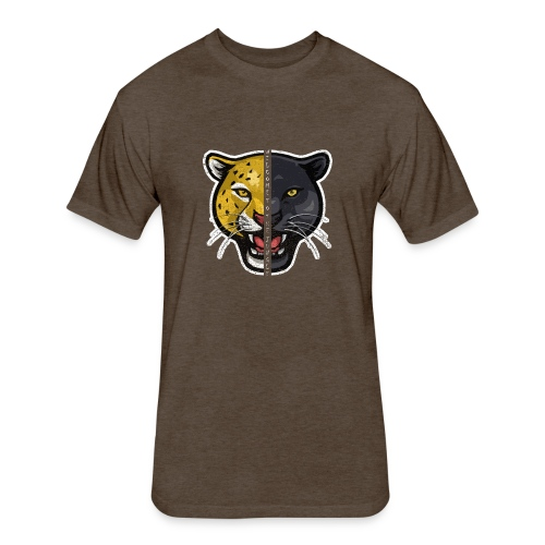 Welcome To The Jungle - Fitted Cotton/Poly T-Shirt by Next Level