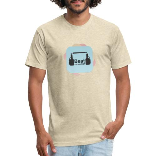 Beat connection - Fitted Cotton/Poly T-Shirt by Next Level