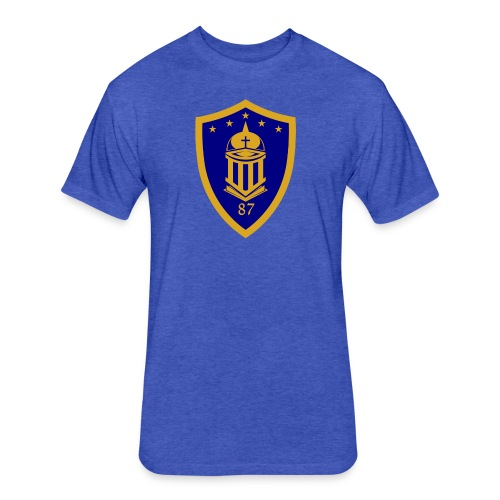 Ateneo HS Batch 87 Logo - Fitted Cotton/Poly T-Shirt by Next Level