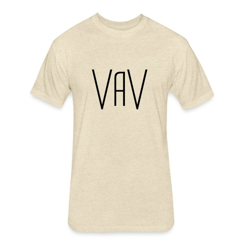 VaV.png - Fitted Cotton/Poly T-Shirt by Next Level