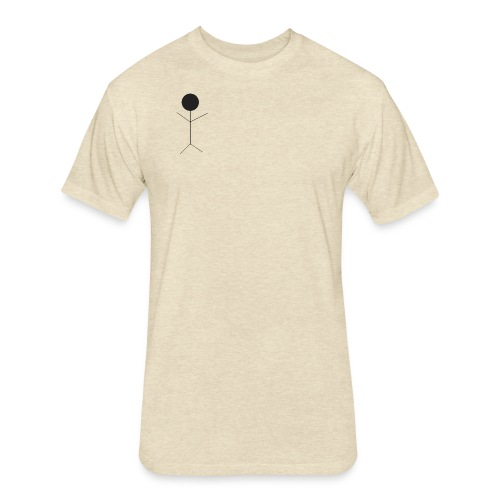 Stickman - Fitted Cotton/Poly T-Shirt by Next Level