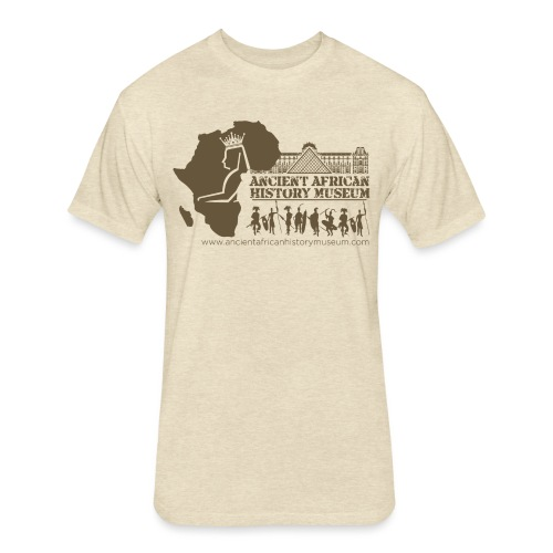 Ancient African History Museum Atlanta, Georgia - Fitted Cotton/Poly T-Shirt by Next Level