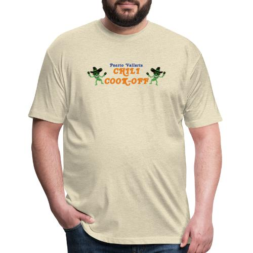 Original Cook-Off Logo - Fitted Cotton/Poly T-Shirt by Next Level
