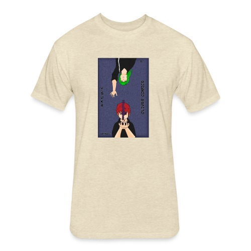 Lee and Detruis - Fitted Cotton/Poly T-Shirt by Next Level