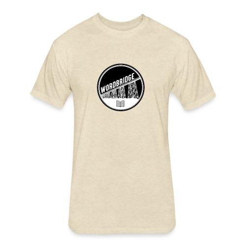 WordBridge Conference Logo - Fitted Cotton/Poly T-Shirt by Next Level