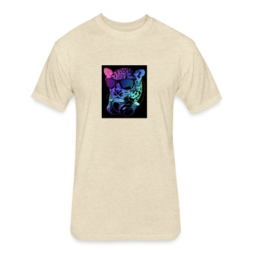 logo t - Fitted Cotton/Poly T-Shirt by Next Level