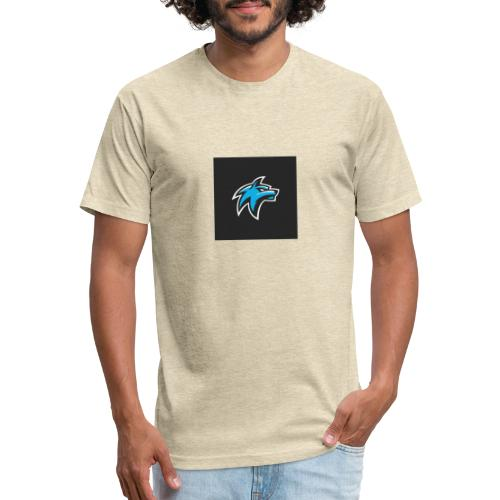 calf has hooded team ORO - Fitted Cotton/Poly T-Shirt by Next Level