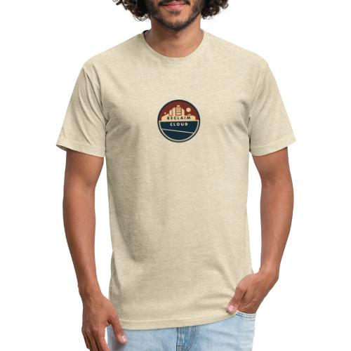 Reclaim Cloud - Fitted Cotton/Poly T-Shirt by Next Level