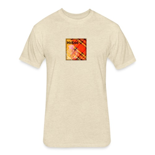 mckidd name - Fitted Cotton/Poly T-Shirt by Next Level