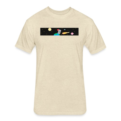 Cantastic Original - Fitted Cotton/Poly T-Shirt by Next Level