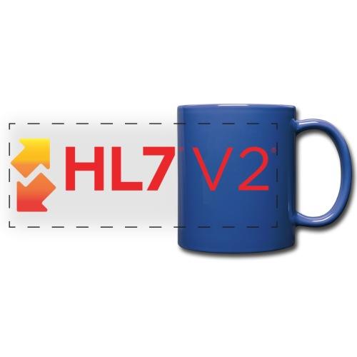 HL7 Version 2 Logo - Full Color Panoramic Mug
