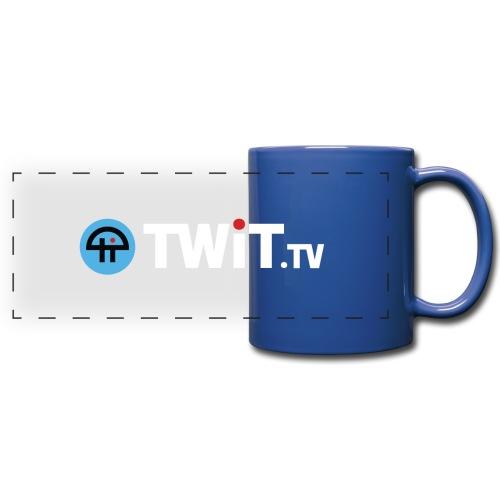 TWiTtv White Logo - Full Color Panoramic Mug