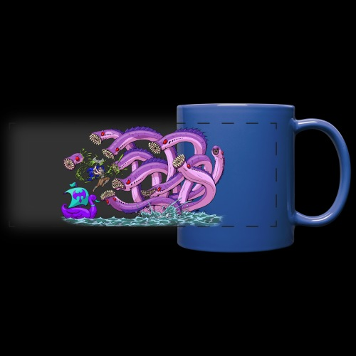 Axel The Mighty and the Lamprey Hydra - Full Color Panoramic Mug