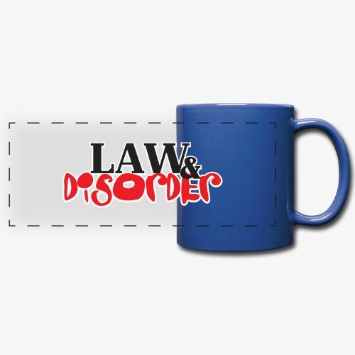 Law DISORDER Logo - Full Color Panoramic Mug
