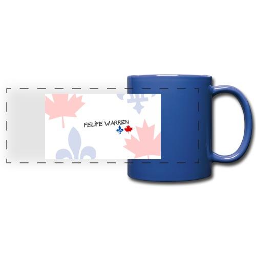 Logo do Canal - Full Color Panoramic Mug
