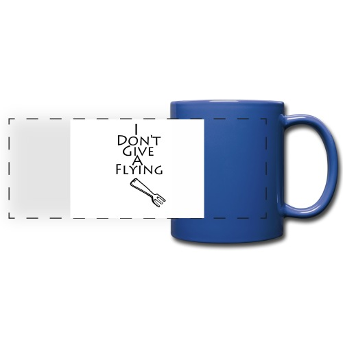 I Don't Give A Flying Fork - Full Color Panoramic Mug