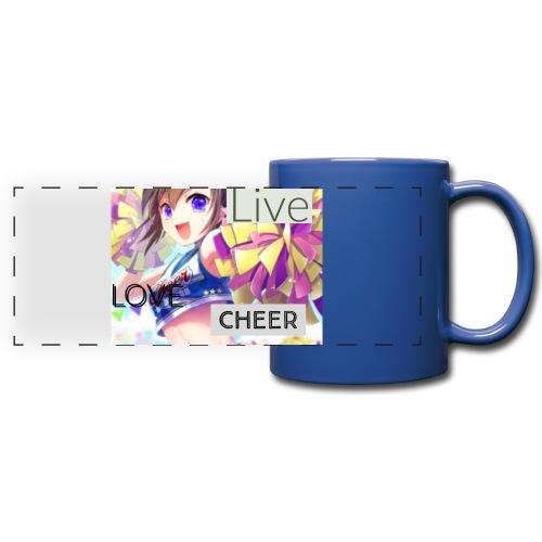 live love cheer - Full Color Panoramic Mug