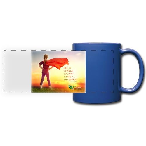 Education Superhero - Full Color Panoramic Mug
