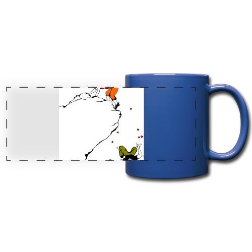 Lady Climber - Full Color Panoramic Mug