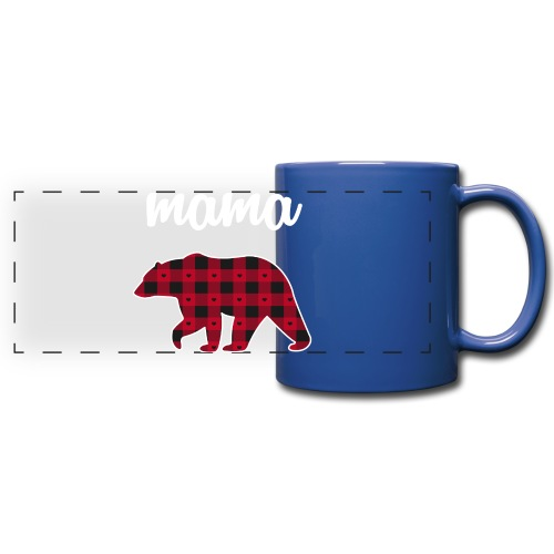 Mama Bear - Full Color Panoramic Mug