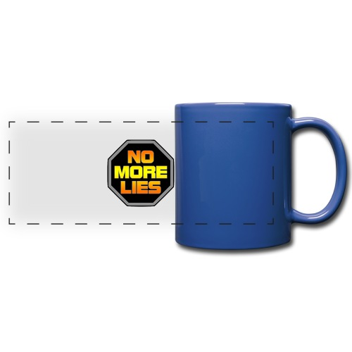 stopp no more lies - Full Color Panoramic Mug