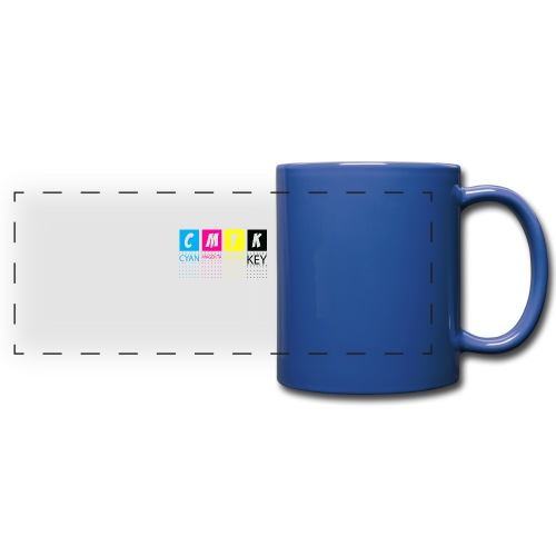 CMYK T SHIRTS - Full Color Panoramic Mug