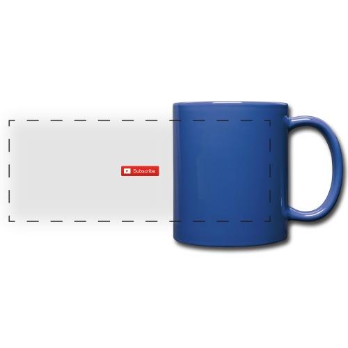 YOUTUBE SUBSCRIBE - Full Color Panoramic Mug