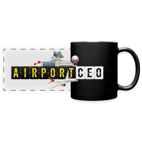 The Airport CEO - Full Color Panoramic Mug