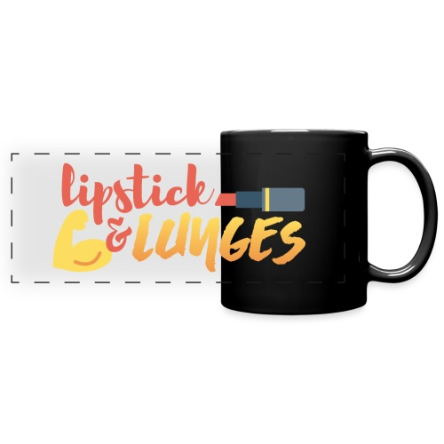 Lipstick and Lunges - Full Color Panoramic Mug