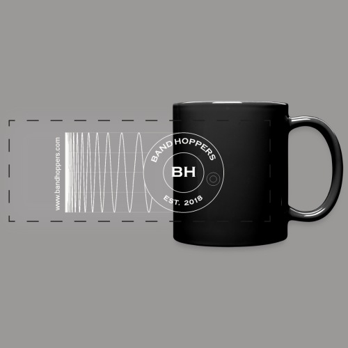 BandHoppers Logo #1 - Full Color Panoramic Mug