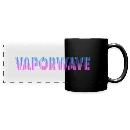 Vaporwave Wave - Full Color Panoramic Mug