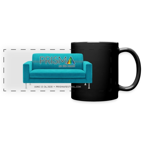 Teal Couch - Full Color Panoramic Mug