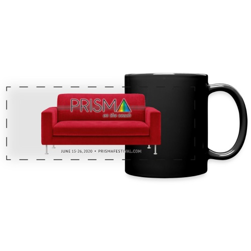 PRISMA on the Couch: Red - Full Color Panoramic Mug