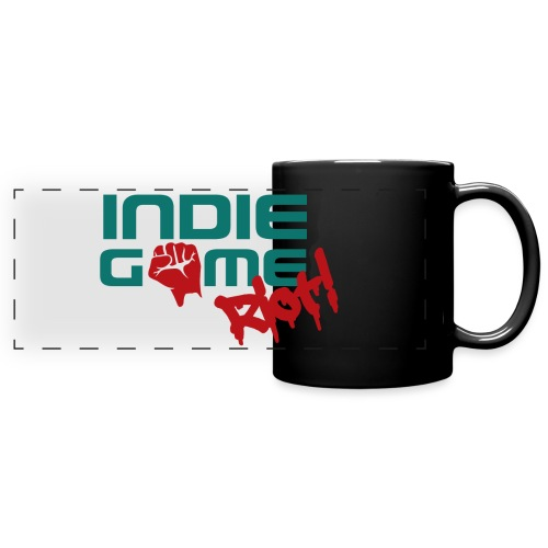 62069 Indie Game Riot png - Full Color Panoramic Mug